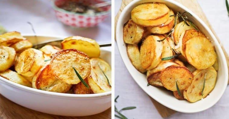 Запеченный картофель от Джейми Оливера — нежная мякоть под хрустящей корочкой