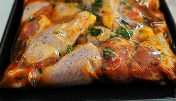 Куриные голени в маринаде из йогурта, горчицы и соевого соуса - Любимые рецепты