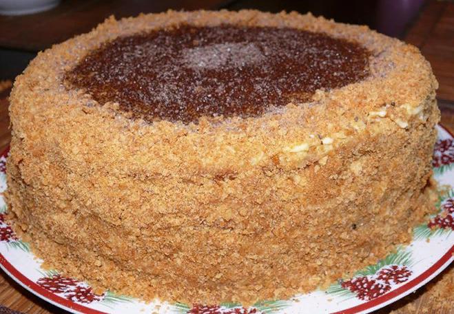 """Самый вкусный и простой в приготовлении торт """"Рыжик"""""""