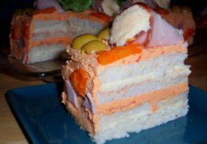 Бутербродные торты — ТОП-6 рецептов