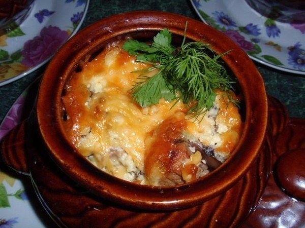 ТОП-9 потрясающих рецептов блюд в горшочках