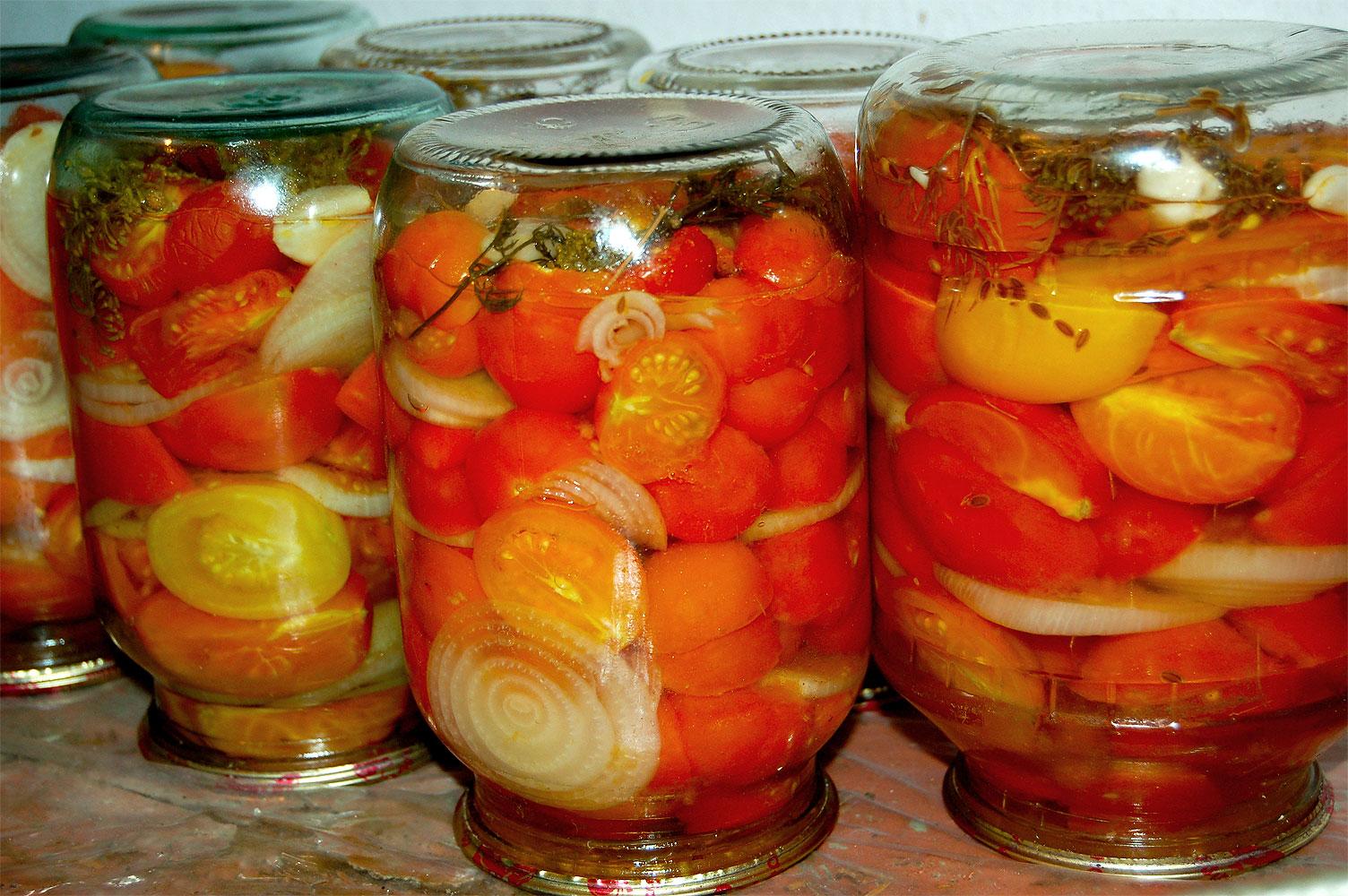 Маринованные помидоры дольками-вкуснейшая закуска