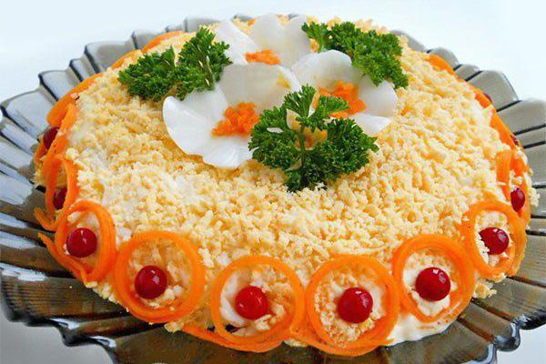Аппетитные салаты на праздничный стол. ТОП-6 рецептов