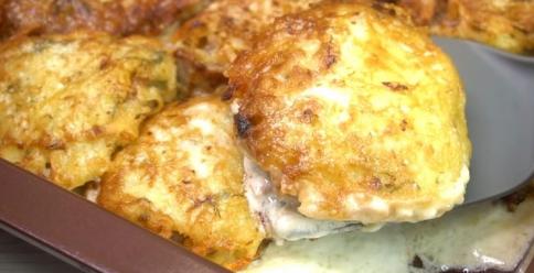 Запеченное мясо в картофельной шубке. Сытный ужин для всей семьи!