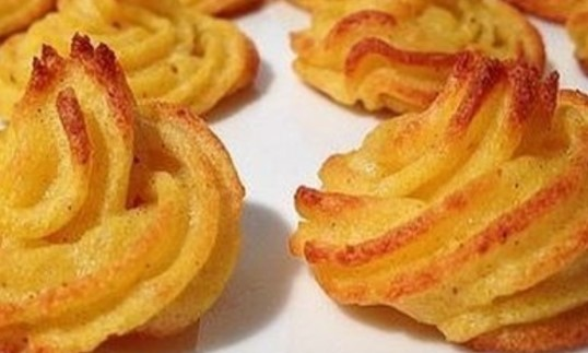 Французские картофельные завитки с сыром. Красиво и вкусно!