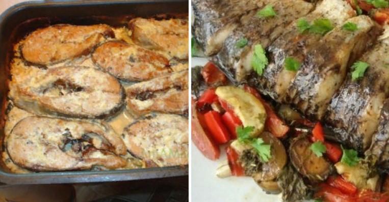 Рецепты приготовления рыбы в духовке