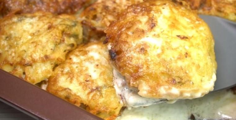 Потрясающее горячее из картофеля. Хоть к обеду, хоть на праздничный стол. Быстро и легко готовится