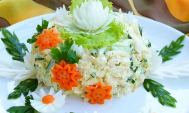 Обалденный салат «Моника» — затмит любое «Оливье»