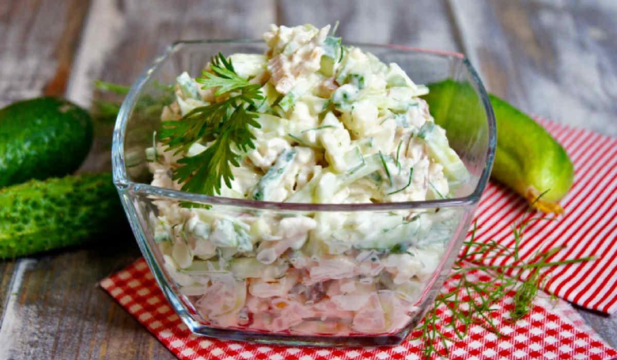Попробовали в ресторане и приготовили дома: салат получился бесподобный