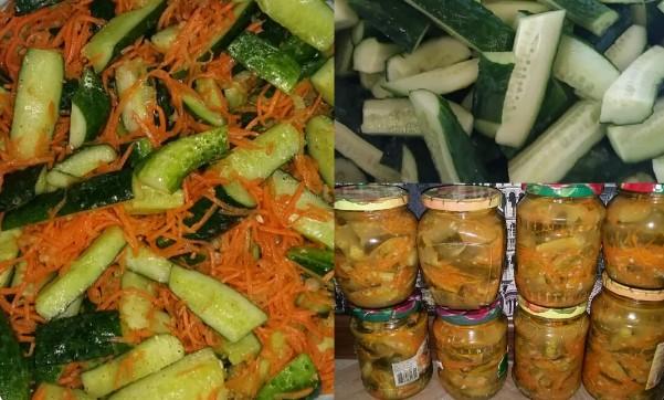 Огурцы по-корейски в зиму. Этот салат будет Вашим фаворитом