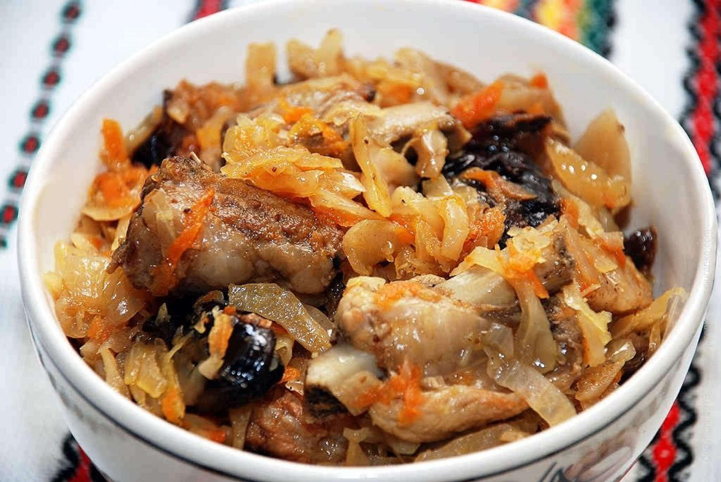 Самый вкусный бигос (бигус) из свежей капусты с мясом