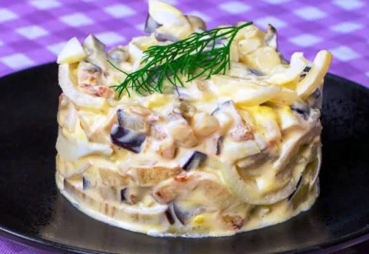 Самый вкусный салат из баклажанов. Удивите гостей загадочным вкусом любимого овоща